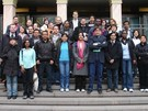 10/3/2008 - Dello Sbarba con gli studenti del Master in Local Development